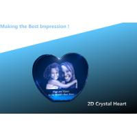Buy cheap Mother's Day Heart/crystal heart/3D laser engraving crystal heart/crystal 2d heart product