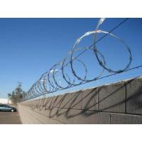 Buy cheap Welded Razor Wire Mesh Gives A High Security Protective Fence 1m Length product