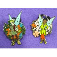 China Hard Enamel Lapel Pins With Cute Fairy For Custom Lapel Pins Small Order Color In Gold / Nickel Plating wholesale