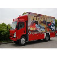 Buy cheap Two Seats Commercial Fire Trucks Japanese Chassis With 13 Sets Communication Modules product