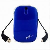 Buy cheap External power charger for iPad/iPhone/HTC/Samsung/mobile phone, with built-in 2 USB cable/5500mAh product