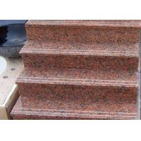 Buy cheap Red Straight Granite Step Treads For Indoor Outdoor Step Finish Optional product