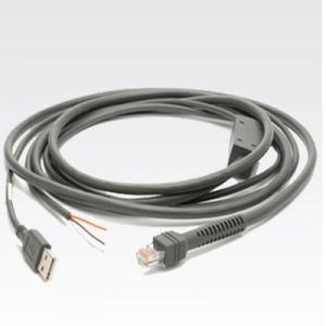 CAB-U06-S09EAR 9ft USB reto ao cabo de RJ50 10P10C para a série do varredor do símbolo