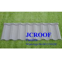 Stone Coated Metal Shingles Unti-fade Colourful sand classical type with ISO9001 certification