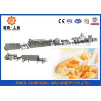 Buy cheap Energy Saving Stainless Steel Corn Flakes Making Machine Long Performance from wholesalers