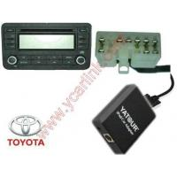 Buy cheap iPod iPhone Car audio interface for Toyota Big 5+7 CD Changer connection product