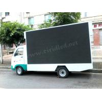 Commercial Mobile Led Display Screen , Led Mobile Advertising Trucks 10 Pixel Pitch