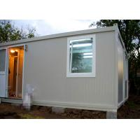 Buy cheap Temporary Residence Modular Container House Steel Door With Sanitary Facilities product