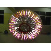 Buy cheap Waterproof Outdoor Inflatable Toys Shining Adult Hamster Ball / Zorb Ball product