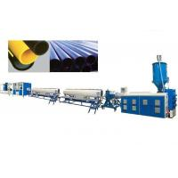 Buy cheap PPR PE Pipe Extrusion Line Automatic Pe Pipe Production Line High Speed product
