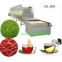 Buy cheap High Speed Microwave Dryer Tunnel Drying machine For  Flower Tea Leaf product