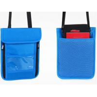 Buy cheap Personalized Promotional Nylon Wallets , Durable Nylon Neck Wallet product