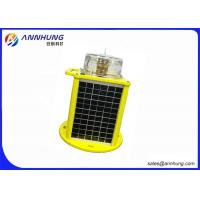 Buy cheap Strong Corrosion Resistance Solar Powered Airport Light / Airport Runway Lights product
