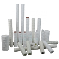 Buy cheap 5 Micron Oil RO Water Filter 25um 50um String Wound PP Filter Cartridges product
