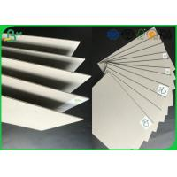 Buy cheap Strong Stiffness Recycled Mixed Pulp 1.5mm - 2.5mm Grey Board For Folder Book from wholesalers