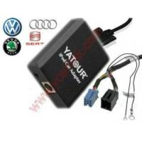 Buy cheap ipod/iPhone car integration for VW Audi Skoda ISO 8-Pin product