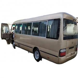 Buy cheap Clean Golden Color 39000km Used Toyota Coaster Bus With Left Steering product