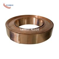 Buy cheap Cu86Mn12Ni Precision Alloy Manganin Copper Alloy Strip Customized Size product