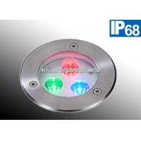 Buy cheap IP68  316 Stainless Steel Embedded LED Pool Light Underwater 3 Watt 50 - 60HZ product