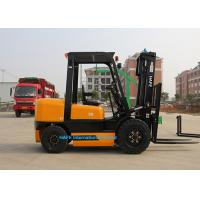 China Premium Quality 3.5T Diesel Operated Forklift , High Reach Forklift Ceiling Type on sale