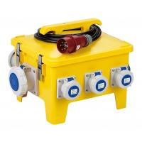 Buy cheap Yellow Mobile Portable Electrical Distribution BoxShock Resistant PE Enclosure product
