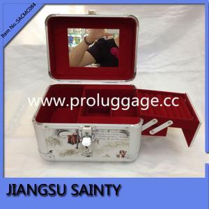 Buy cheap Historieta SACMC084 que imprime la pequeña caja cosmética de la PU product