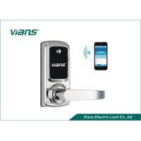 Buy cheap Electric Bluetooth Enabled Door Lock , Wireless Home Door Lock Controlled By Smartphone product