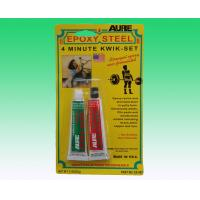 Buy cheap 4 Minute Clear High Temperature Epoxy Resin Glue Steel AB Adhesive product