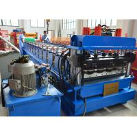 Buy cheap 1.2 Inch Single Chain Drive Glazed Tile Roll Forming Machine With Material  Width 1000mm product