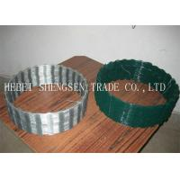 Buy cheap 450mm Coil Diameter Razor Blade Barbed Wire CBT - 65 With Free Sample Available product