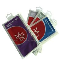 Buy cheap Luxuriant Socks Packing Plastic Hanger Bags With Colorfull Printing product