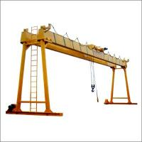Buy cheap 10 ton Single girder overhead crane in textile industry product