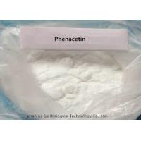 China Pharmaceutical Grade Material Phenacetin  CAS: 62-44-2 For Relieving Pain And Hot on sale