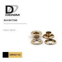 Buy cheap Iron / Brass Material Metal Eyelet Grommet Rivets product