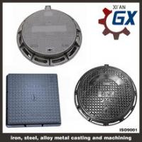 Quality Buy Sewer Heavy Duty Ductile Iron Square And Round Manhole Cover And Frame En124 d400 for sale