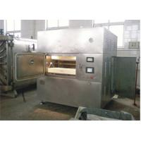Buy cheap 30kw Stainless Steel Microwave Vacuum Drying Equipment 5 - 25kg/Hour product