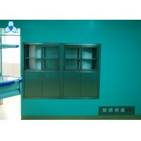 Buy cheap Hospital Air Clean Custom Medicine Cabinets , Anodized Embedded Stainless Steel Medicine Cabinet product