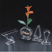 Buy cheap Acrylic Flower Holder & Acrylic Flower Display Rack & Lucite Stand product