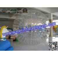 China Adults Grass Inflatable Zorb Ball , Inflatable Grass Zorb Ball  2.8m x 1.8m on sale