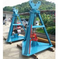Buy cheap Adjustable Height Tower Erection Tools Hydraulic Reel Jack 500kn Rated Load product