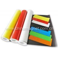 Buy cheap Laminated Flexible Magnetic Sheeting (Roll) with Vinyl/ PVC product