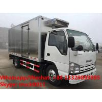 Buy cheap 2019s high quality ISUZU 100P diesel stainless steel refrigerated truck for sale, Japan cold room truck for fresh fruits product