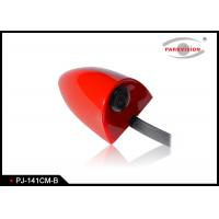 Buy cheap DC 12V Universal Side Car Parking Side View Camera Wide Angle 3G1P Lens Red Color product