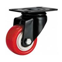 """Buy cheap light duty 2"""" swivel red PU caster,  PU caster and wheels, 2.5 inch, 3 inch PU castor, small caster product"""