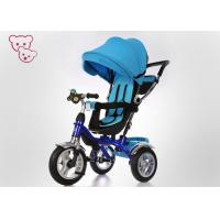 Buy cheap Sunshade Canopy Metal 4 In 1 Baby Tricycle Bike Push And Ride Rotating Seat product