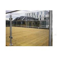 Buy cheap Terrace Glass Balustrade Stainless Steel Handrail product