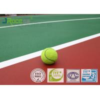 Buy cheap Sports Training Ground Basketball Court Flooring , Synthetic Sports Flooring For Tennis Play from wholesalers