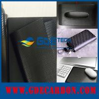 China real carbon fiber pu coating leather on sale