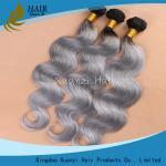 Buy cheap Agrafe grise de Remy dans des prolongements de cheveux, catégorie lâche de la vague 7A de Vierge d'armure douce molle de cheveux product
