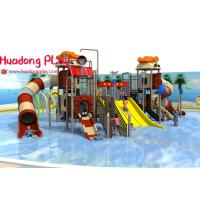 Buy cheap Commercial Water Park Playground Equipment Multi - Functional Unique Blow Up Water Slide product